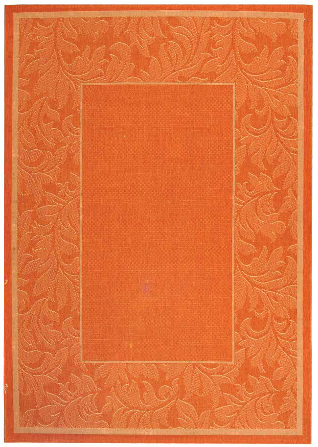 Safavieh Courtyard Cy2666-3202 Terracotta - Natural Area Rug| Size| 2'4''X6'7'' Runner - 98762x2
