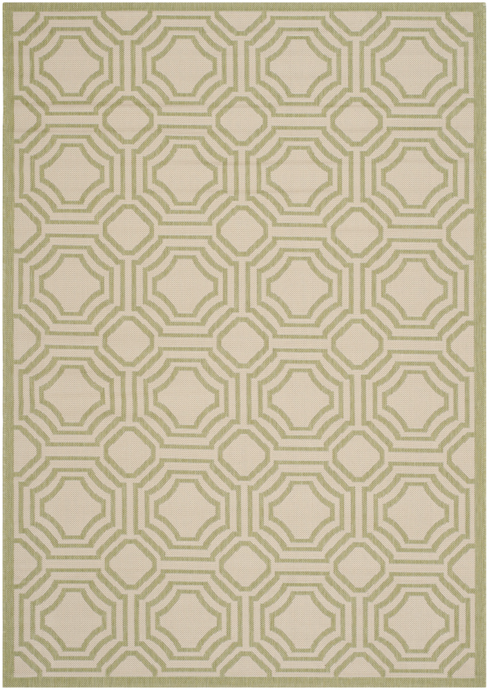 Safavieh Courtyard Cy6112-218 Beige - Sweet Pea Area Rug| Size| 2'3''X6'7'' Runner - 107966x2
