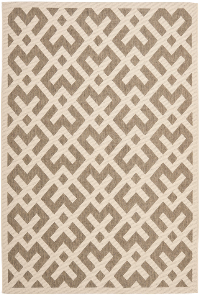 Safavieh Courtyard Cy6915-232 Brown - Bone Area Rug| Size| 2' X 3' 7'' - 99041x1