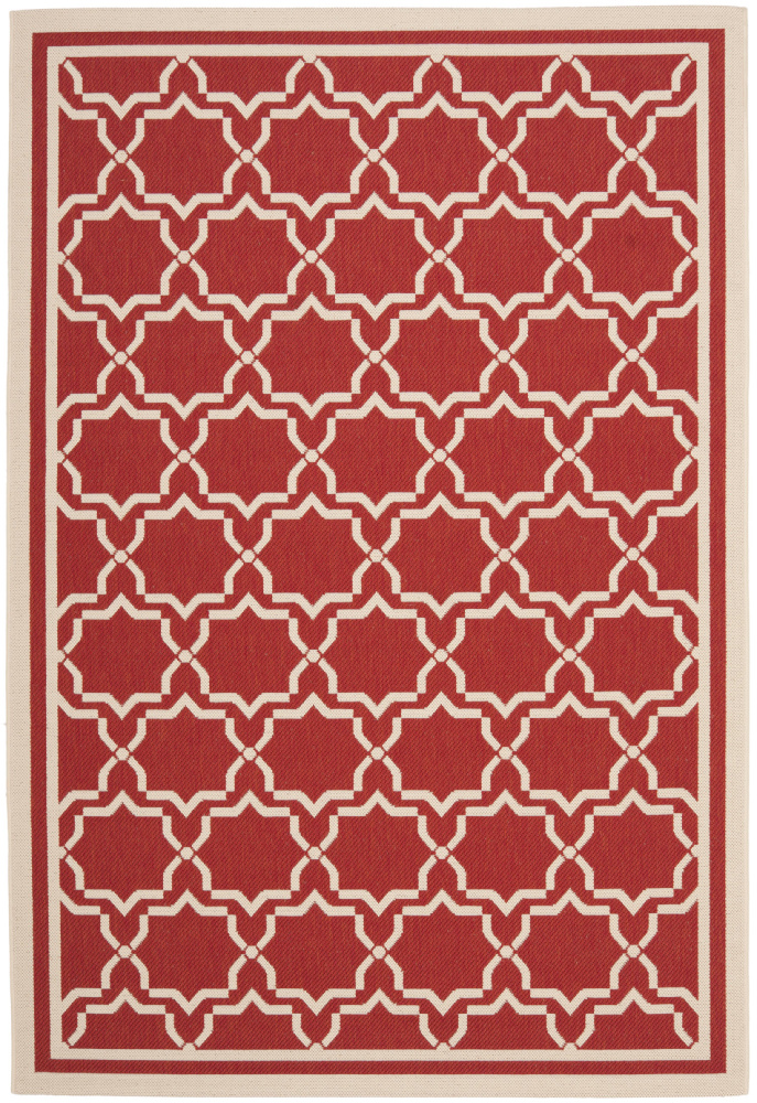 Safavieh Courtyard Cy6916-248 Red - Bone Area Rug| Size| 2' X 3' 7'' - 99054x1