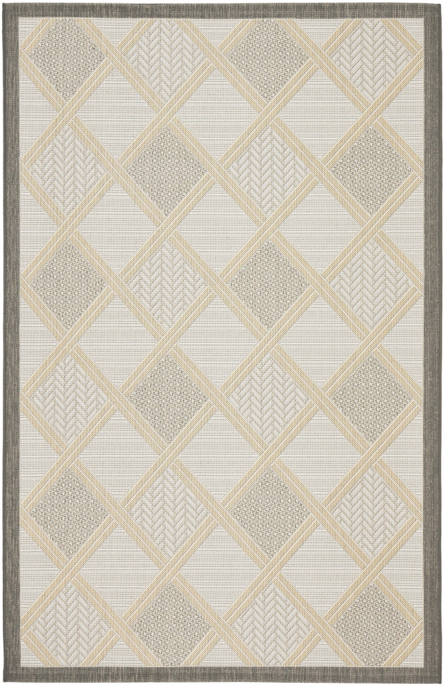Safavieh Courtyard Cy7570-78a21 Light Grey - Anthracite Area Rug| Size| 5' 3'' X 7' 7'' - 99131x2