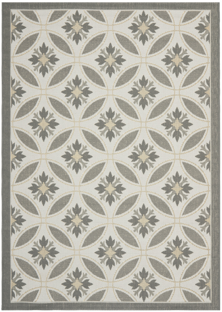 Safavieh Courtyard Cy7844-78a21 Light Grey - Anthracite Area Rug| Size| 6' 7'' X 9' 6'' - 99143x3