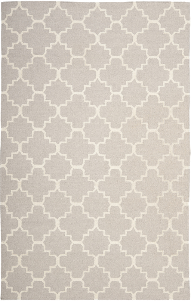 Safavieh Dhurries DHU554G Grey - Ivory Area Rug| Size| 2' 6'' X 4' - 80550x16