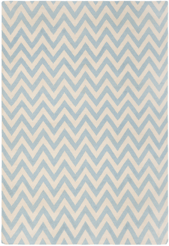Safavieh Dhurries DHU557B Blue - Ivory Area Rug| Size| 2'6''X8' Runner - 80558x3