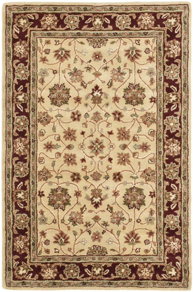 Safavieh Heritage Hg965a Ivory - Red Area Rug| Size| 2'3''X8' Runner - 61280x2
