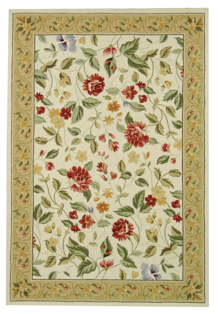 Safavieh Chelsea HK117A Ivory - Beige Area Rug Clearance| Size| 2' 6'' X 4' - 49884X4
