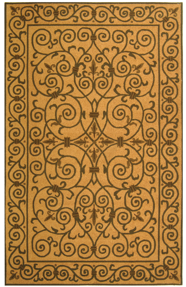 Safavieh Chelsea HK11G Yellow - Light Green Area Rug Clearance| Size| 1' 8'' X 2' 6'' - 49886X1