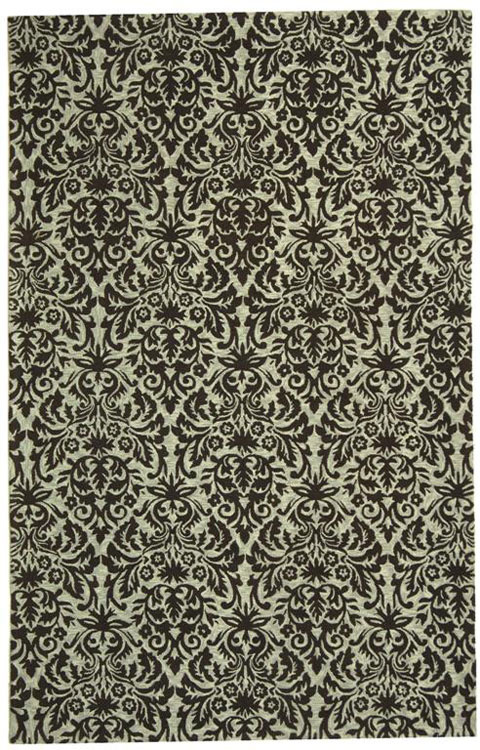 Safavieh Chelsea HK368C Sage - Chocolate Area Rug Clearance| Size| 3' X 3' Round - 46427X2
