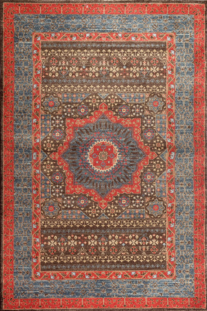 Safavieh Mahal Mah620c Navy - Red Area Rug| Size| 9' x 12' - 143433x6