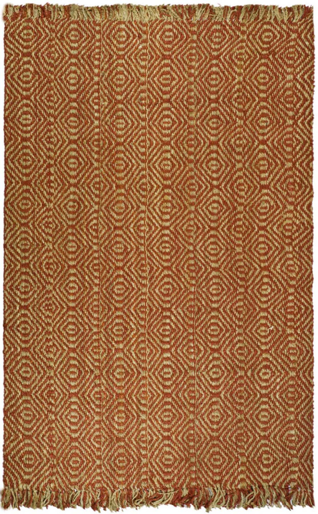 Safavieh Natural Fiber NF445A Rust Area Rug Clearance| Size| 2'6''X6' Runner - 46930x11