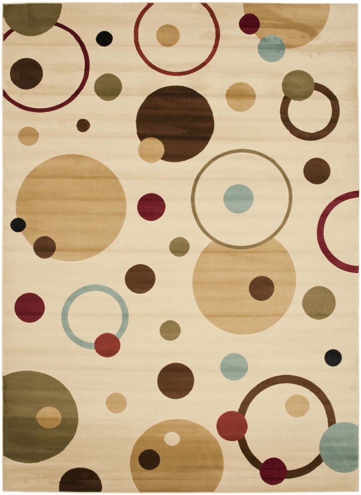 Safavieh Porcello Prl6851 Ivory - Multi Area Rug| Size| 2' X 3' 7'' - 63199x1