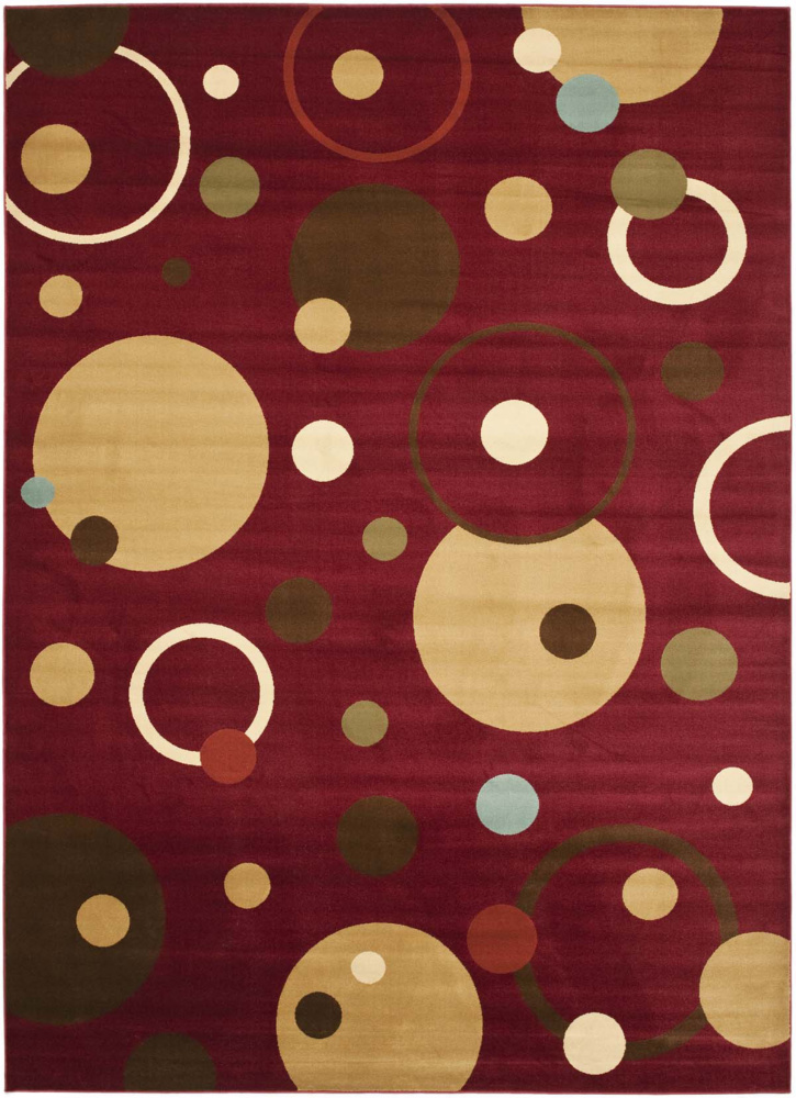 Safavieh Porcello Prl6851 Red - Multi Area Rug| Size| 2' X 3' 7'' - 63200x1