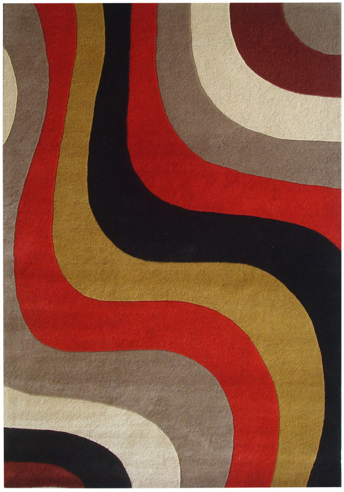 Safavieh Rodeo Drive Rd151b Red - Multi Area Rug| Size| 2'6''X8' Runner - 63207x2