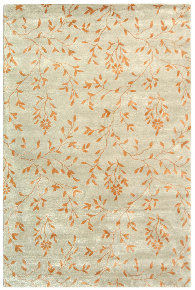 Safavieh Soho Soh418c Light Green - Rust Area Rug| Size| 2' X 3' - 47140X1