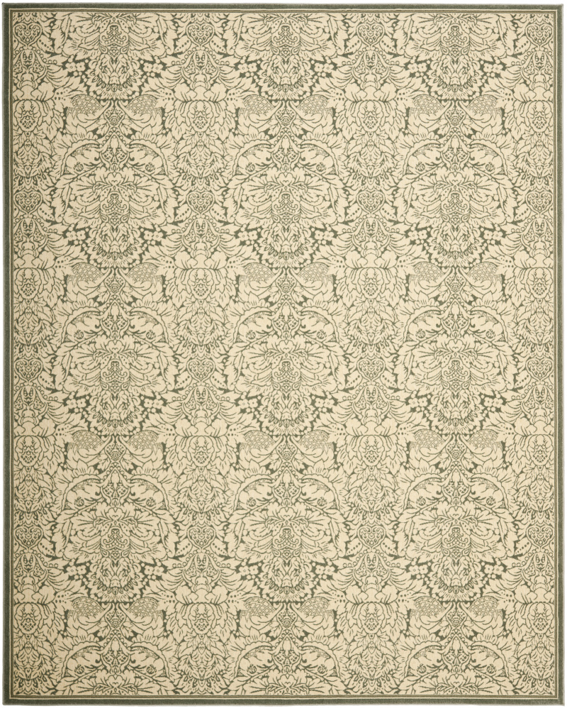 Safavieh Treasures TRE221-6012 Light Blue - Ivory Area Rug| Size| 2'2''X8' Runner - 80902x1