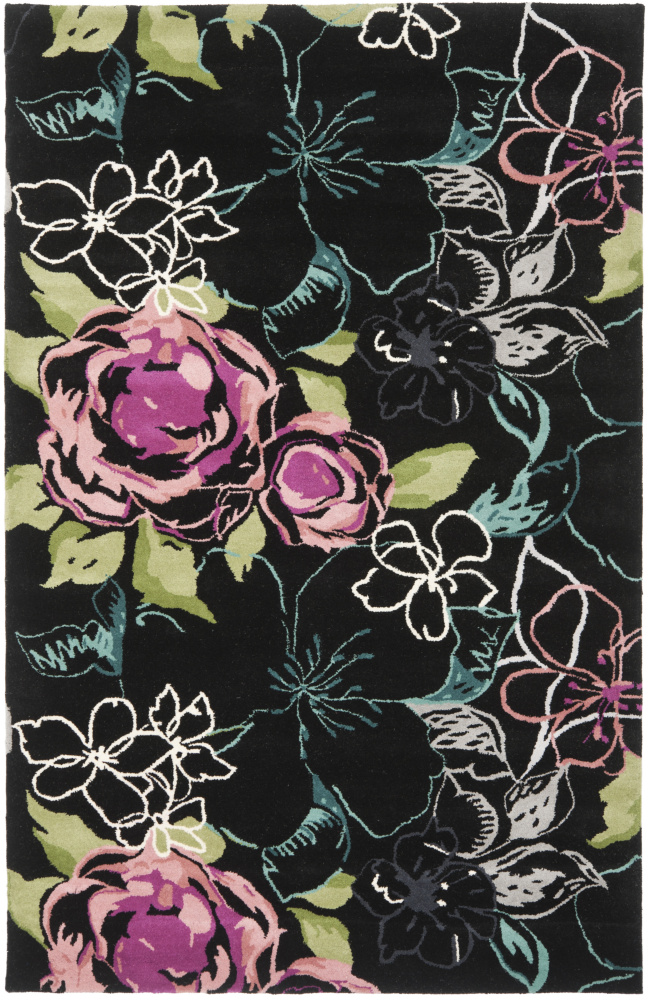 Safavieh Wyndham Wyd378c Black - Multi Area Rug| Size| 2'3''X9' Runner - 66416x2