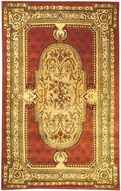 Safavieh Classic CL755A Burgundy Area Rug Clearance