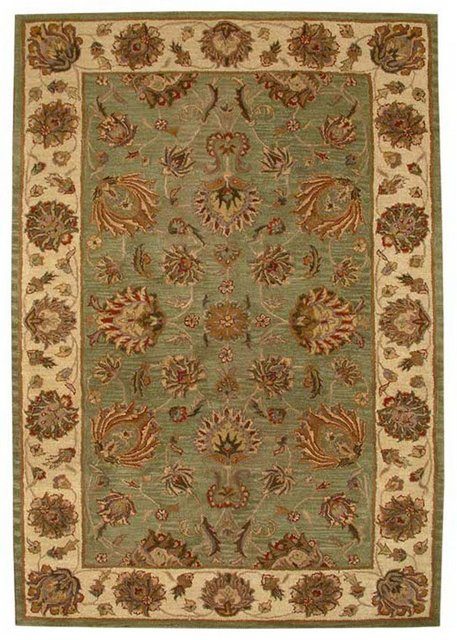 Safavieh Heritage HG343A Green - Gold Area Rug Clearance