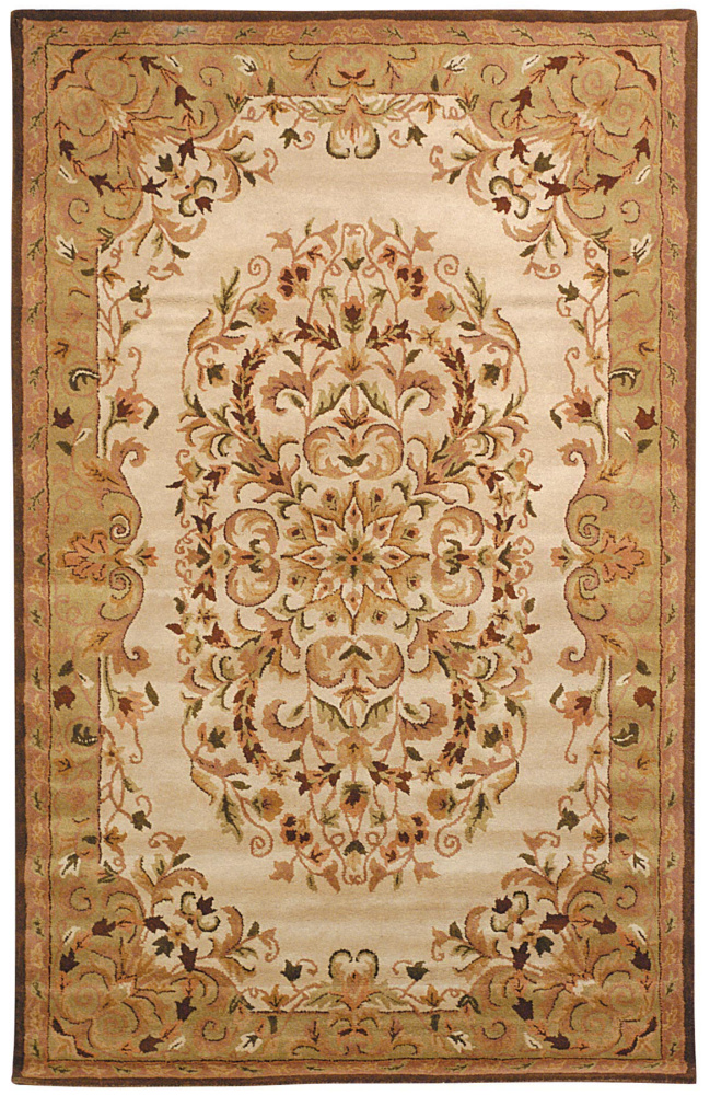 Safavieh Heritage HG640A Beige - Green Area Rug Clearance| Size| 3' X 5' - 49857X7