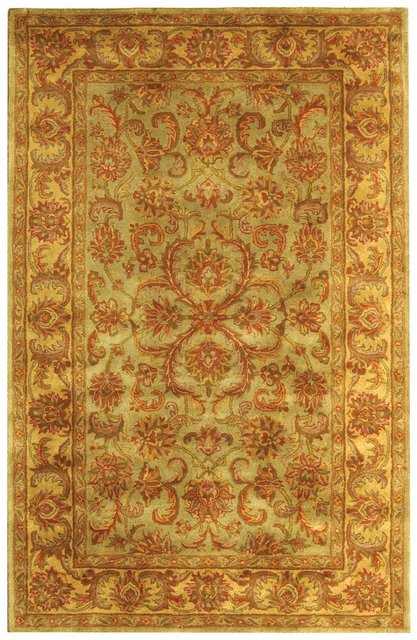 Safavieh Heritage HG811A Green - Gold Area Rug Clearance