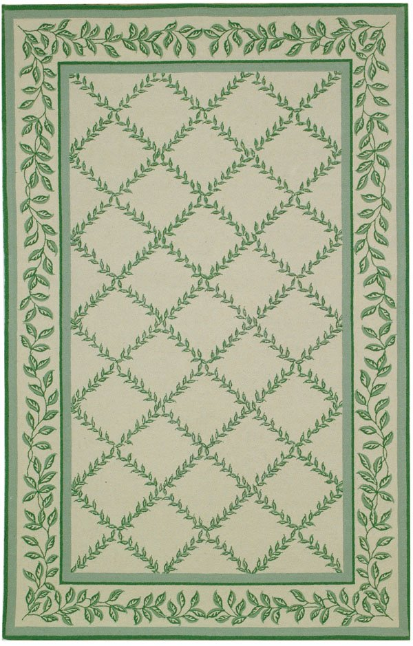 Safavieh Chelsea HK230B Ivory - Light Green Area Rug