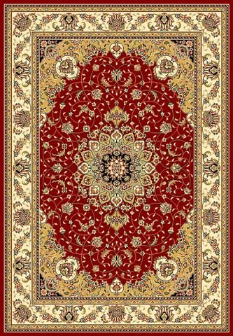 Safavieh Lyndhurst LNH329C Red - Ivory Area Rug Clearance| Size| 4' X 6' - 46835X3