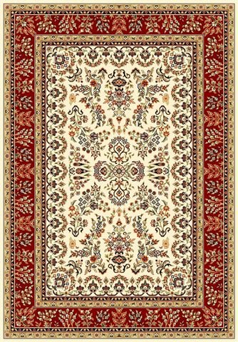 Safavieh Lyndhurst LNH331A Ivory - Red Area Rug Clearance| Size| 4' X 6' - 46839X3