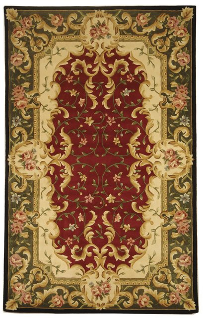 Safavieh Naples NA508C Red - Green Area Rug