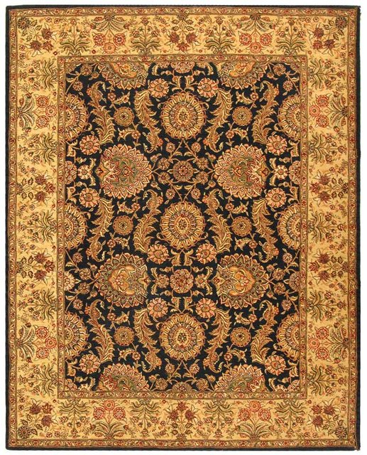 Safavieh Persian Court PC414A Navy Area Rug Clearance| Size| 4' X 6' - 50180X6