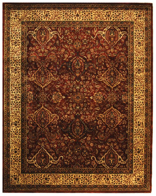 Safavieh Persian Legend PL163A Red - Ivory Area Rug