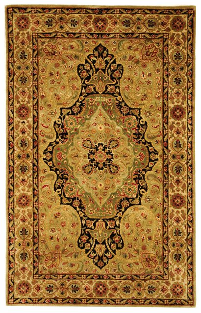 Safavieh Persian Legend PL504A Soft Green - Ivory Area Rug