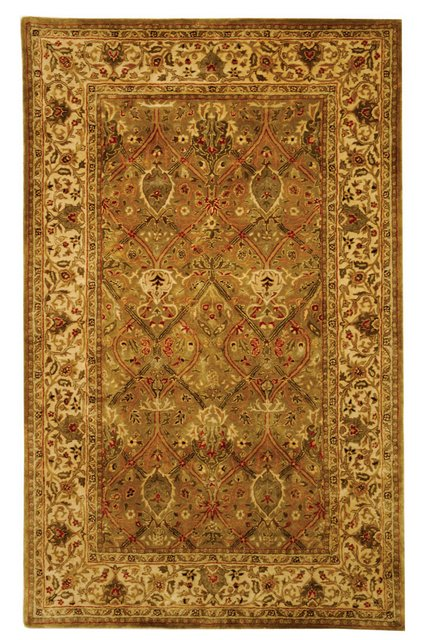 Safavieh Persian Legend PL519A Light Green - Beige Area Rug| Size| 6' X 6' Round - 46997X11