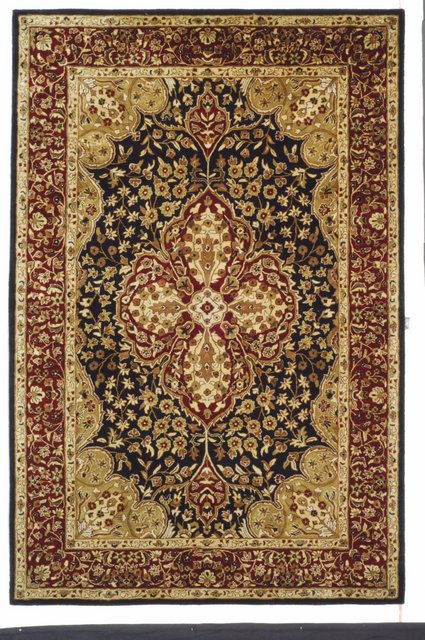 Safavieh Persian Legend PL522B Black - Red Area Rug