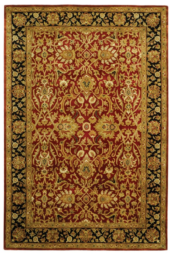 Safavieh Persian Legend PL523C Rust - Black Area Rug