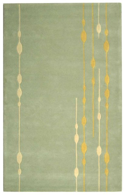 Safavieh Soho Soh303a Light Green Area Rug Clearance| Size| 6' X 6' Square - 50297X5