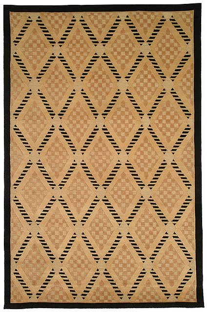Safavieh Tibetan TB273A Black - Gold Area Rug