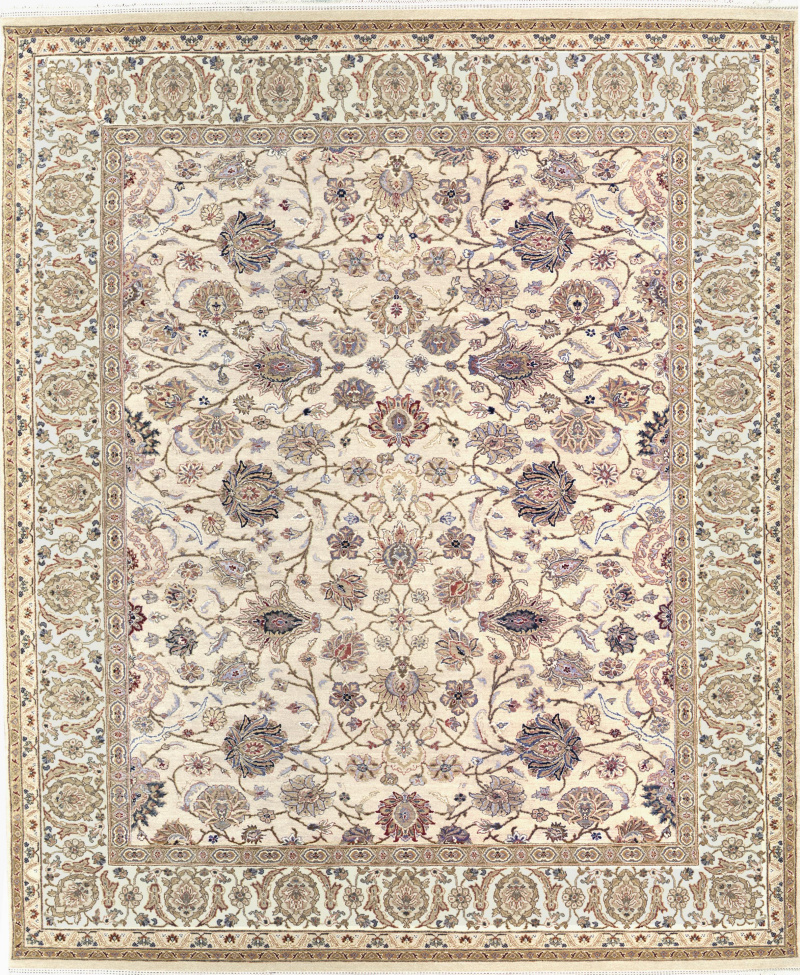 Samad Cote DAzur Alize Beige-Ivory Area Rug Clearance| Size| 2' 6'' X 8' Runner - 64327x13
