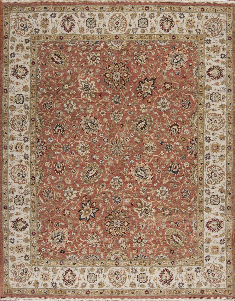 Samad Sovereign Cyrus Clay-Ivory Area Rug Clearance| Size| 6 X 9 - 64358x3
