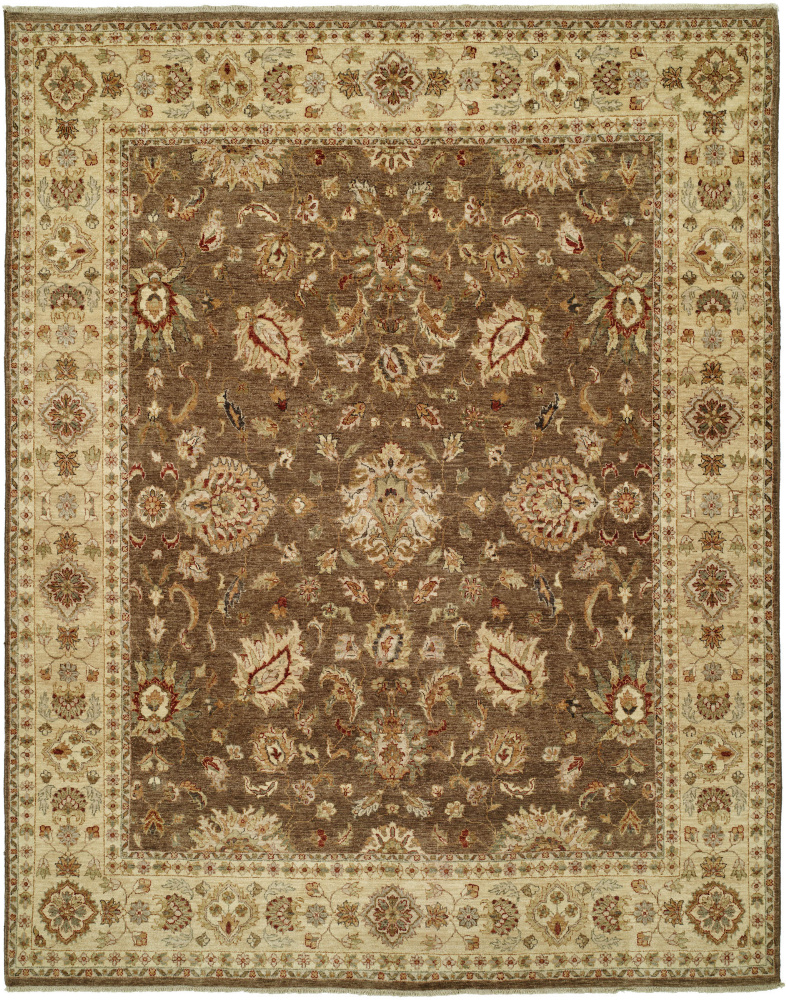Shalom Brothers Royal Zeigler Rzm-Sl7 Brown-Brown Area Rug| Size| 2' x 3' - 107672x1