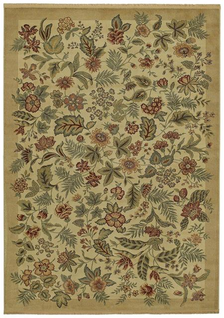 Rugstudio Famous Maker 38073 Beige Area Rug Last Chance| Size| 2' 2'' X 3' 6'' - 38073x1