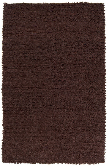 Surya Cirrus CIRRUS-4 Chocolate Area Rug Clearance| Size| 6'' Returnable Sample Swatch - 33676x3