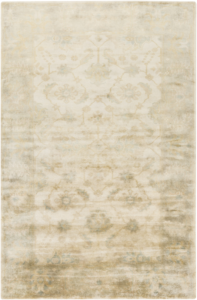 Surya Ainsley Ain-1017 Beige Area Rug| Size| 5'6'' x 8'6'' with Free Pad - 110850x4