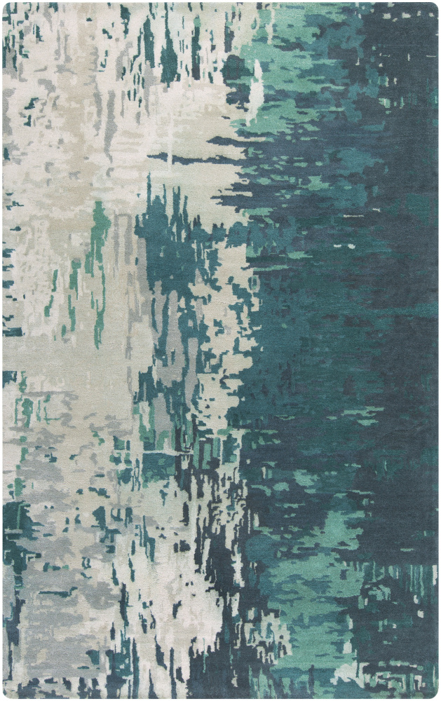 Surya Banshee BAN-3343 Moss Area Rug| Size| 5' x 8' with Free Pad - 106158x4