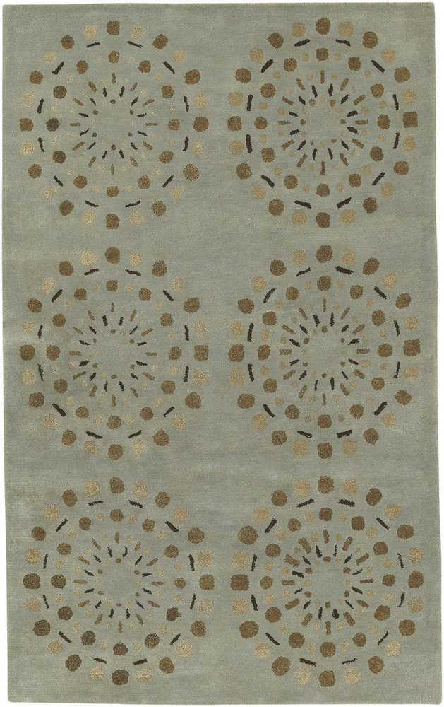 Surya Bombay Bst-428 Seafoam Green Area Rug Clearance| Size| 1'6''X1'6'' Returnable Sample Swatch - 136870x1