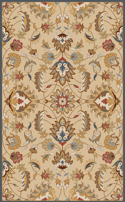 Surya Caesar CAE-1118 Blond Area Rug| Size| 18'' Returnable Sample Swatch - 88021x3
