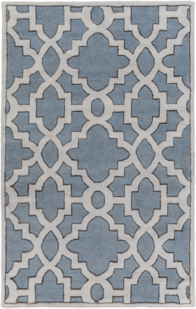 Surya Modern Classics Can-2056 Slate Area Rug Clearance| Size| 18'' Returnable Sample Swatch - 110964x7