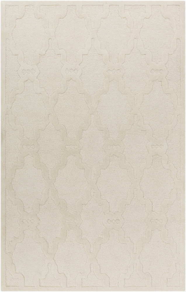 Surya Chandler CHA-4000 Ivory Area Rug| Size| 18'' Returnable Sample Swatch - 106258x5