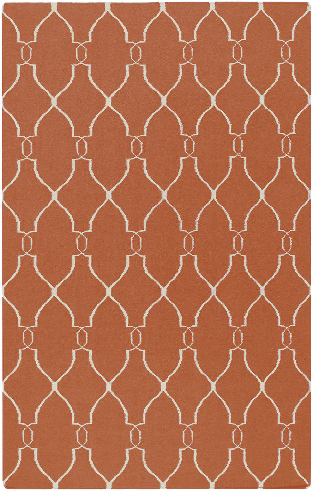 Surya Fallon FAL-1002 Coral Area Rug Clearance| Size| 6'' Returnable Sample Swatch - 28025x8