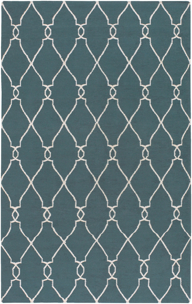 Surya Fallon FAL-1007 Turquoise Area Rug| Size| 6'' Returnable Sample Swatch - 28029x8