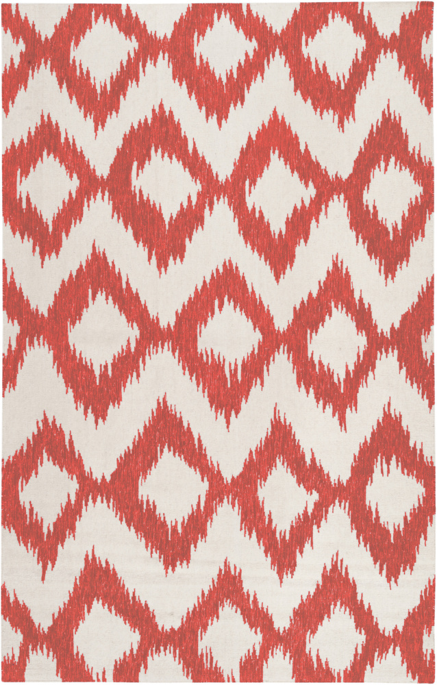 Surya Frontier Ft-173 Poppy Red Area Rug Clearance| Size| 6'' Returnable Sample Swatch - 73221x7